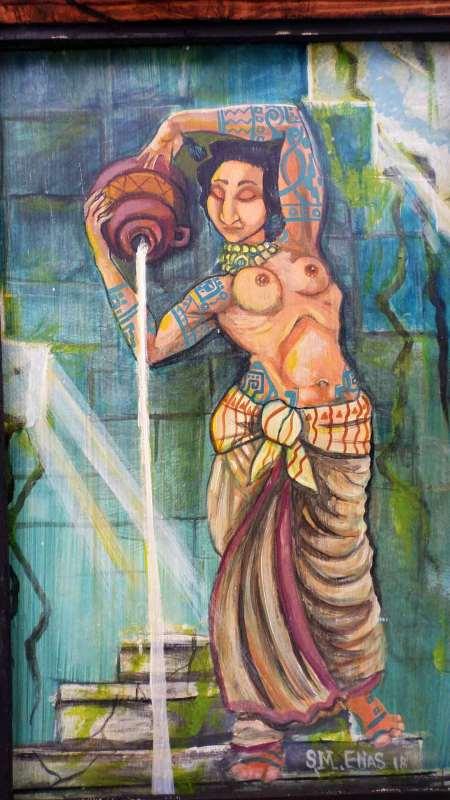 Indigence Water Bearer 1st in a series